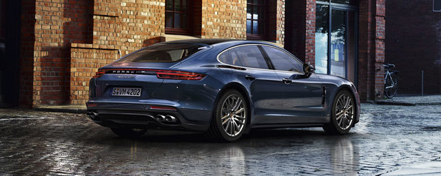 The new Panamera 4S Diesel