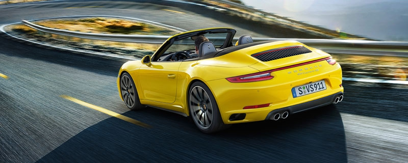 The new 911 Carrera 4S Cabriolet