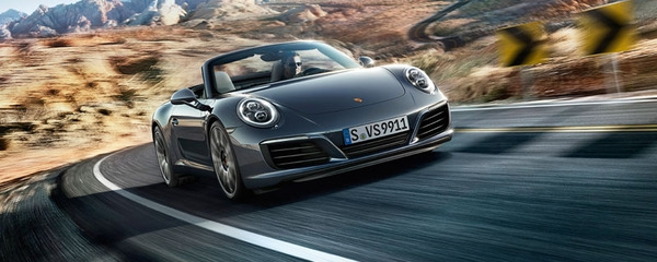 The new 911 Carrera Cabriolet