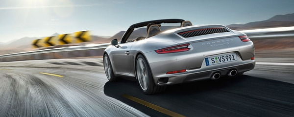 The new 911 Carrera S Cabriolet