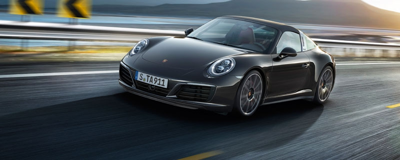 The new 911 Targa 4S