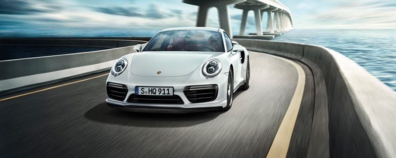 The new 911 Turbo S